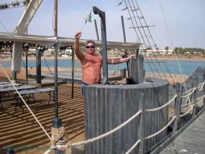 отель, Club Azur Resort 4*, Макади Бей, корабль, Красное море, Египет, Makadi Bay, отзыв