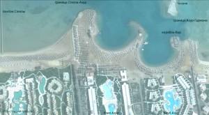 отель, Club Azur Resort 4*, Макади Бей, границы, Красное море, Египет, Makadi Bay, отзыв, понтон Стеллы