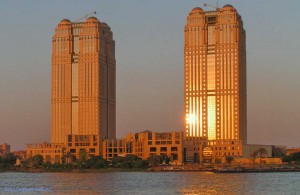 город Каир, Egypt, City Towers, Nile, АРЕ, Миср