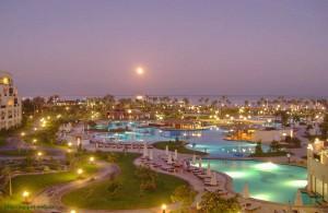 город, Хургада, лунный вечер, Красное море, Египет, Egypt, АРЕ, Миср