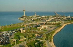 дорога на Бахрейн, остров, Королевство Саудовская Аравия, Персидский залив