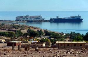 побережье, город, Нувейба, Синайский полуостров, АРЕ, Миср, Sinai