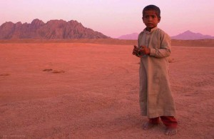 араб, абориген, Синайский полуостров, горный пейзаж, Египет, пустынное плато