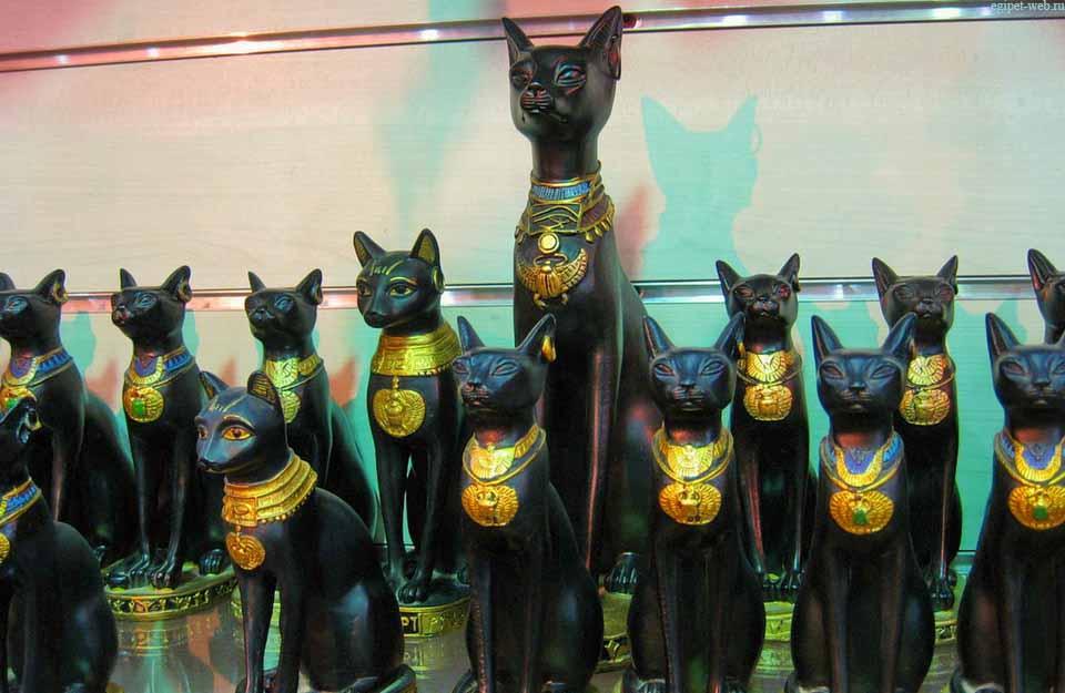 Сувенир кот египетский