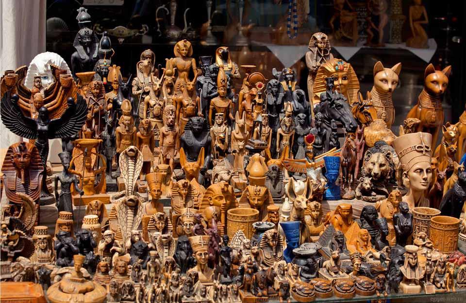 Сувениры из Египта. Что привезти