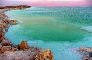 отдых на Мертвом море, вечер, курорт, Израиль, зеркальная гладь