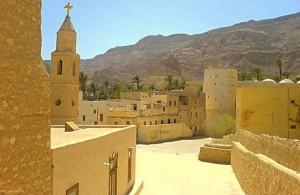 монастырь св. Антония, Суэцкий залив, отдых в Египте, Zaafarana, Egypt, АРЕ, Маср, Африка