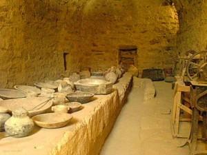 Заафарана, достопримечательности, монастырь святого Павла, трапезная, курорт, Египет