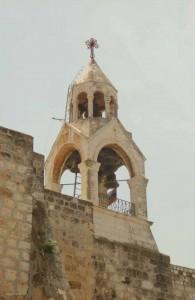 Вифлеем, Колокольня на Базилике Рождества Христова, Палестина, экскурсии, город, Израиль, Vifliem