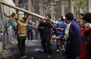 обстановка, баррикады, ситуация, египтяне, Египет, хроника января, манифестанты, протесты