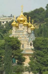 Гефсиманский сад, церковь св. Марии Магдалины, Израиль, экскурсии, Ierusalim, религия
