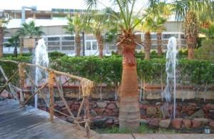 фонтаны, отзыв об отеле, Dreams Beach Resort 5, описание, сервис, территория