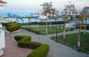 Дримс Бич Ресорт 5, отдых в Египте, отзыв, отель, 5 звезд, территория отеля, закат