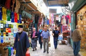 Скорбный путь, экскурсии, Иерусалим, Израиль, Via Dolorosa, религия, магазины, покупки