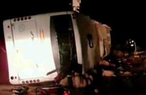 Ночное ДТП в Египте, 22 августа 2014, расследование, шоссе, смерть на дорогах, лобовое столкновение автобусов, Синай, egipet-web.ru, автомагистраль Эль-Тор - Шарм-Эль-Шейх