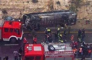 Водитель одного из автобусов уснул за рулём, авария, автомобильная трасса, Египет, статистика, Синайский полуостров, дорожно-транспортное происшествие