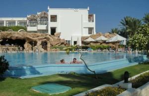 отель Мелиа Синай, один из четырех бассейнов, отзыв об отдыхе, курорт Шарм, Египет, впечатления,