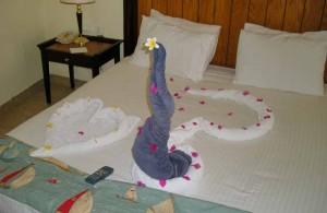 фигурки из полотенец, вежливый персонал, отель Melia Sinai 5*, Шарм Эль Шейх, отдых в Египте, Egypt