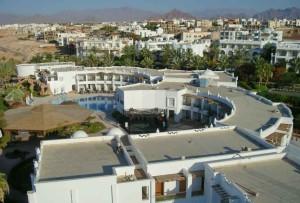 отель Мелиа Синай, вид сверху, отзыв об отдыхе, курорт Шарм, Египет, впечатления, двухэтажные корпуса