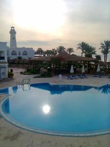 вид из номера, Шарм Эль Шейх, отель Melia Sinai 5, Egypt, отдых в феврале