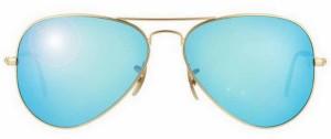 солнечные очки Рей Бен, Авиатор, UV 400,100% защита от ультрафиолетовых лучей, классика