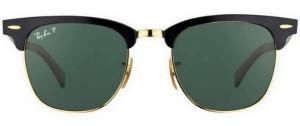солнечные очки Рей Бен, Клубмастер, UV 400,100% защита от ультрафиолетовых лучей, классика