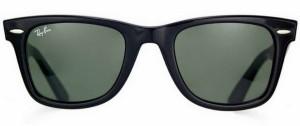 солнечные очки Рей Бен, Вайфарер, UV 400,100% защита от ультрафиолетовых лучей, классика