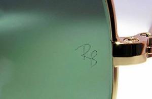 солнцезащитные очки Рей Бен, левая линза, гравировка RB, гарантия качества, лицензия от производителя