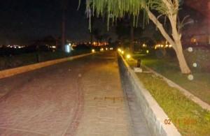 променад, вечернее освещение, отель Мелиа Синай, отзыв об отдыхе, курорт Шарм, Египет, впечатления