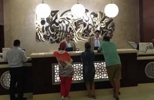 Рецепшин, холл Albatros White Beach 5*, Воровство денег из сейфа, hotel, Hurgada, Egypt