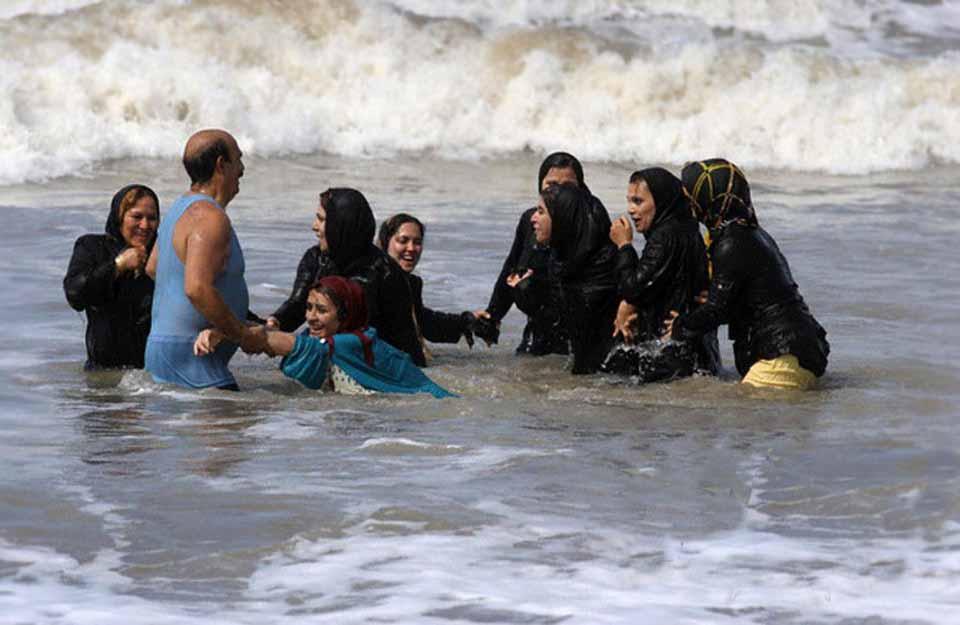 Ураза Байрам, Египет, купание в море
