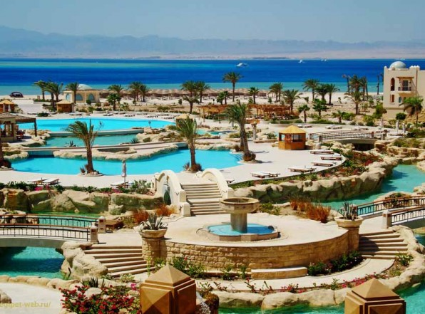 Сома Бей — курорт-оазис на пустынном берегу
