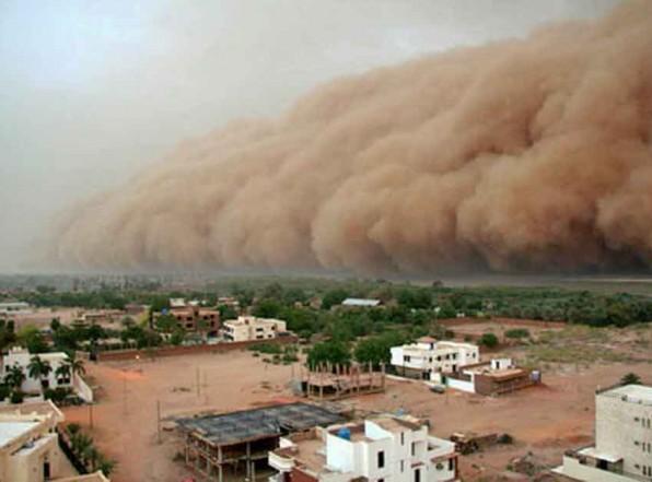 Песчаная буря. Египет восстанавливается