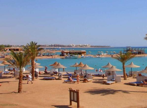 «Club Azur Resort 4*». Макади бей. Граница или идём купаться к соседям