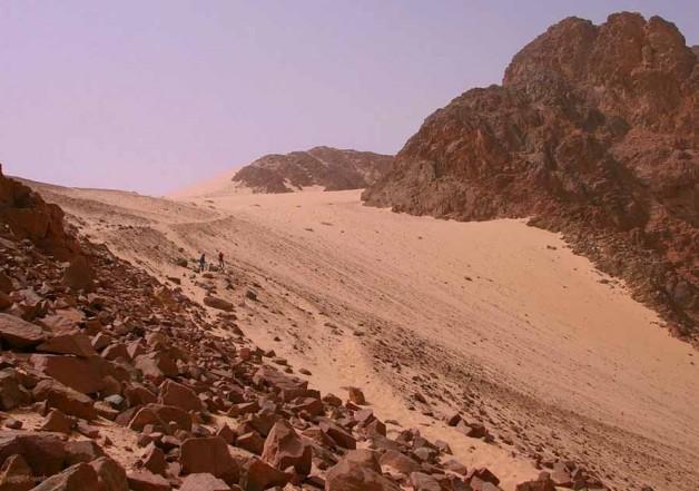 Синайский полуостров. Граница между Азией и Африкой