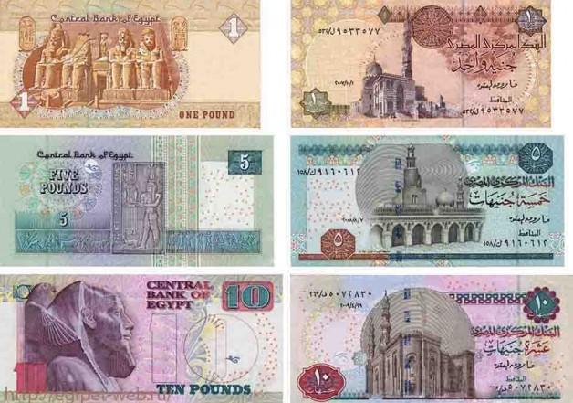 Валюта Египта. Египетский фунт