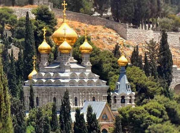 Монастырь Марии Магдалины – русская территория Иерусалима