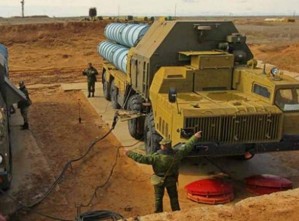 Российские С300 в Сирии